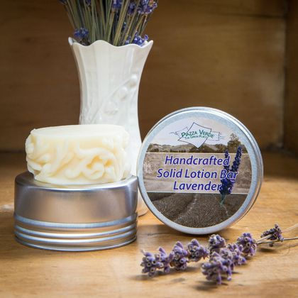 Lavender Solid Lotion Bar (Handmade)