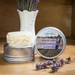 Lavender Solid Lotion Bar (Handmade)
