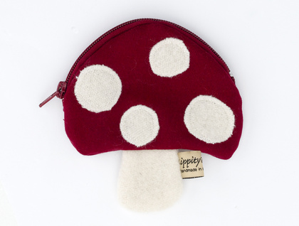 Pixie Purse - toadstool purse
