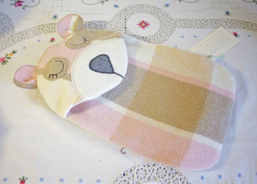 Bear Blanket Hottie Cover / P.J. case
