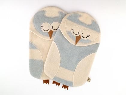 Vintage Blue Owl Hottie cover / P.j. Case