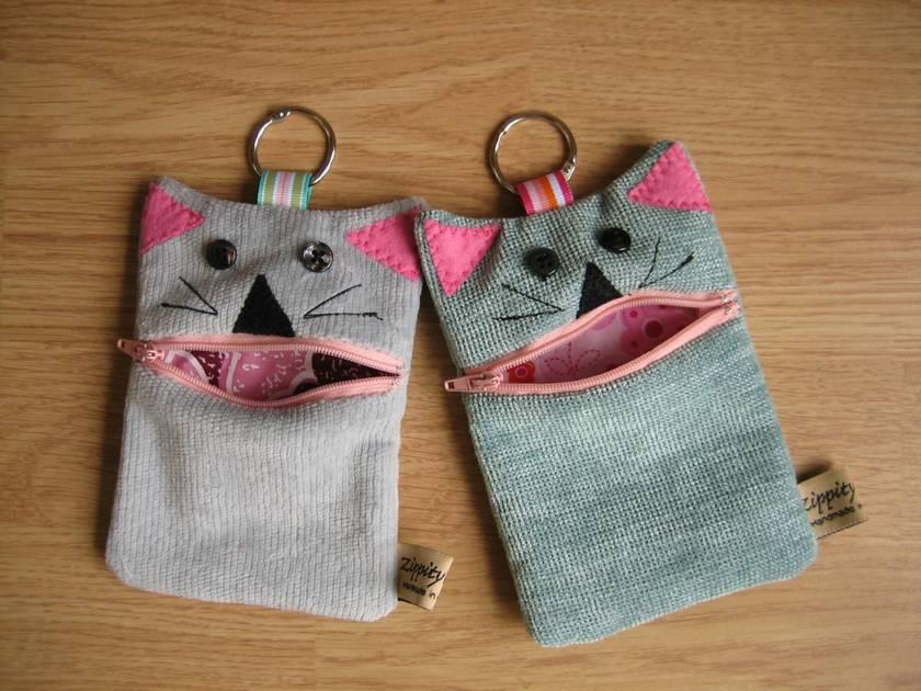 Money cat - Coin purse- Phone