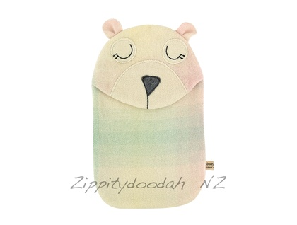 Bear Blanket Hottie Cover / P.J. case- Rainbow Bear