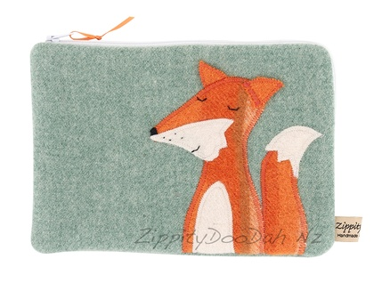 Fantastic Mr Fox Mini Ipad Cover - Green