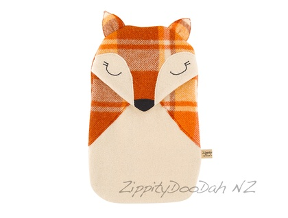 rusty Orange Fox Hottie Cover - Limited Edition
