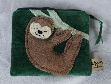 Sloth Coin Purse for Lindsay