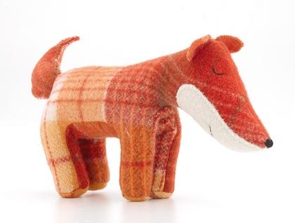 Vintage Blanket  Fox Toy - Firefox