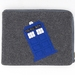 DR WHO tardis Ipad Cover - Grey