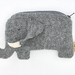 Elephant coin purse  with or without strap