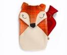 Fox Hottie Cover - redwood