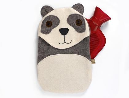 Panda Hottie Cover / Vintage grey/Cream blankets