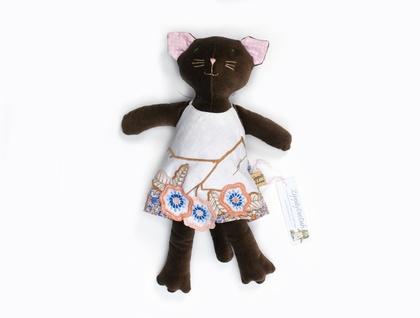 Lily  Velveteen Cat Doll