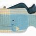 Whale Hottie Cover / Seaglass green/sand/cream