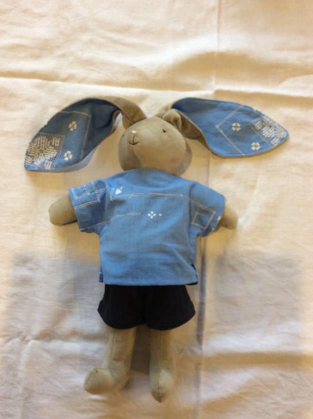 Boy bunny custom listing for onegreenleaf