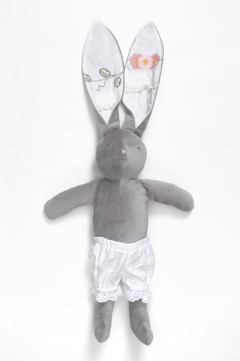 White Cotton Bloomers to fit Zippitydoodah velveteen Rabbits