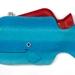 Whale Hottie Cover / Aqua stripe