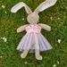Ballet tutu to fit Zippitydoodah velveteen Rabbits