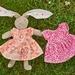 Liberty  Dress  -velveteen Rabbits