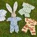 P.J's to fit Zippitydoodah velveteen Rabbits