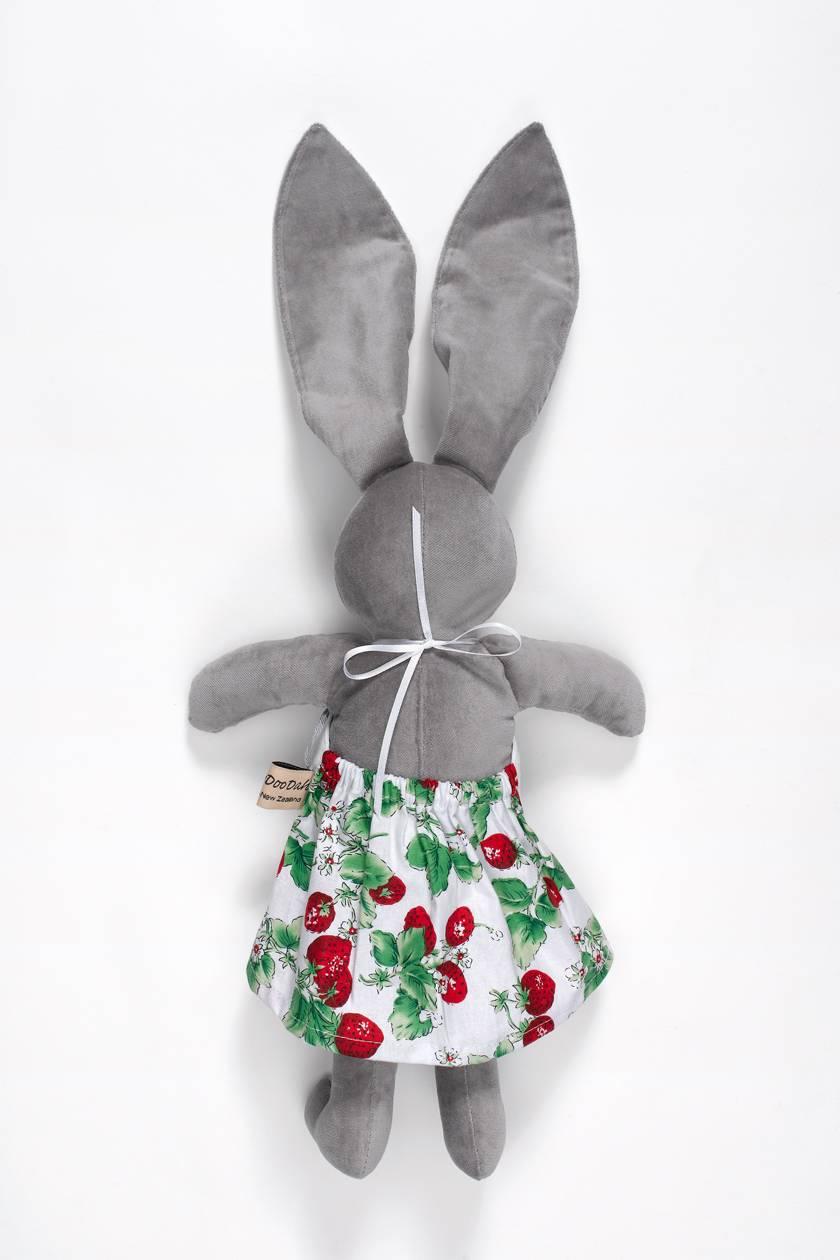 Maggie Grey Velveteen Rabbit  Doll