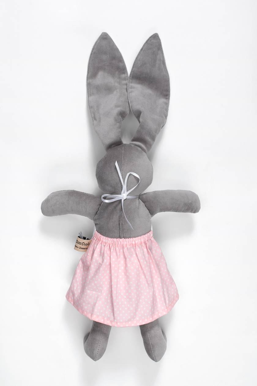 Rosa Grey Velveteen Rabbit  Doll