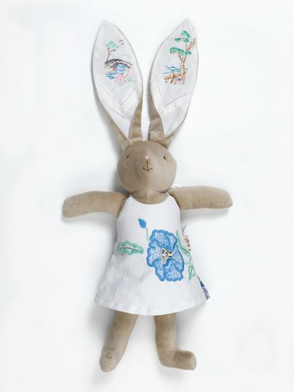 Bleu Poppy Velveteen Rabbit  Doll