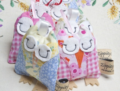 Lavender Owl ( lavender Bag)