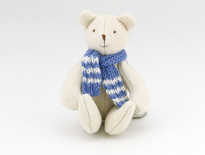 Baby Bear with Blue scarf