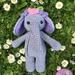 "Crochet ""Bella, the elephant"""