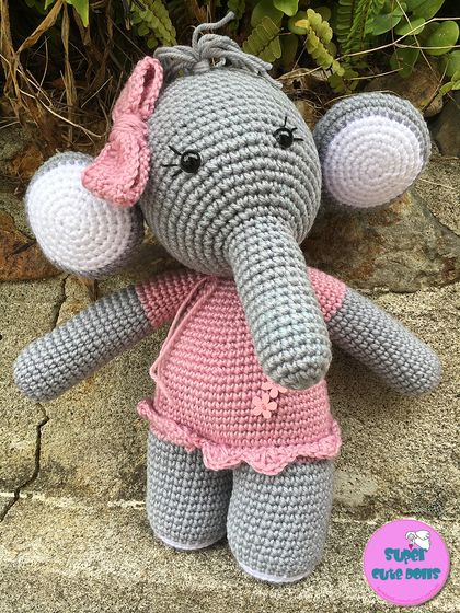 Crochet Large Elephant