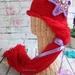 Crochet Princess Hair Wig/Hat Disney Princess Ariel inspired