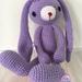 Crochet Lop Eared Bunny
