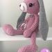 Crochet Large Lop Eared Bunny