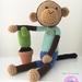 "Crochet ""Max, the mischief monkey""!"