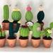 Crochet Mini Cactus *Thank you gift, Home decor*