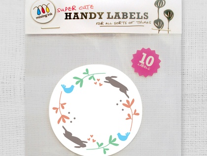 10 'In the Garden' Labels