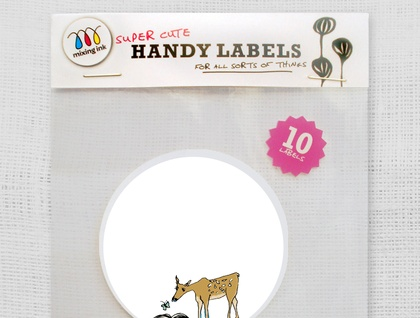 10 Super Cute Deer Labels