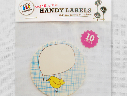 10 Hello Bird Labels
