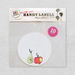 10 Super Cute Apple & Pear Labels