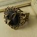 ~Wonderland~ Inspired Bronze Rabbit Ring