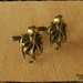 Bronze Steampunk Sky Kraken Cufflinks