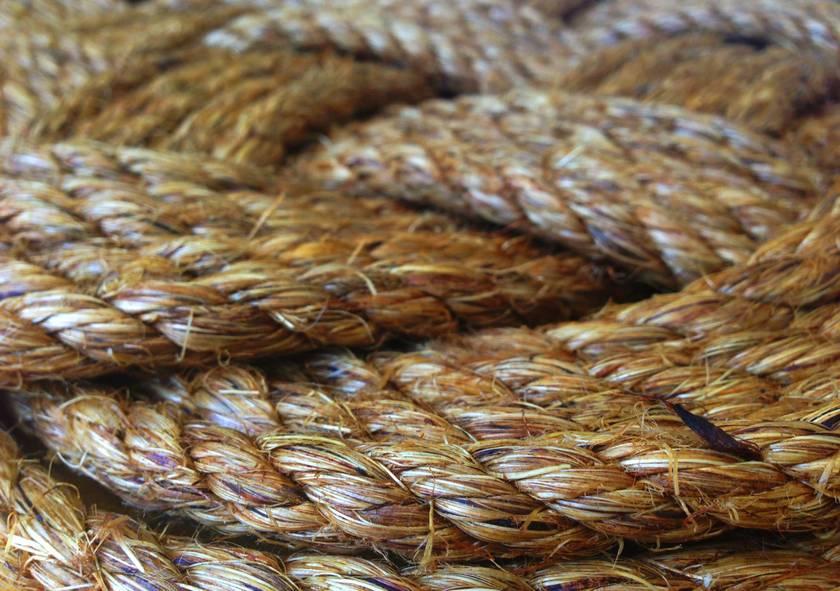 'In knots' Rope Doormat - Ocean Plait