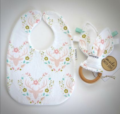 Bib & Teether Set