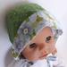 (SALE) Reversible Baby Bonnet 3-6mth