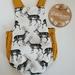 Vintage Inspired Baby Romper 6-12mth