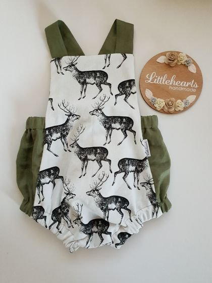 Vintage Inspired Baby Romper 18mths-2yrs