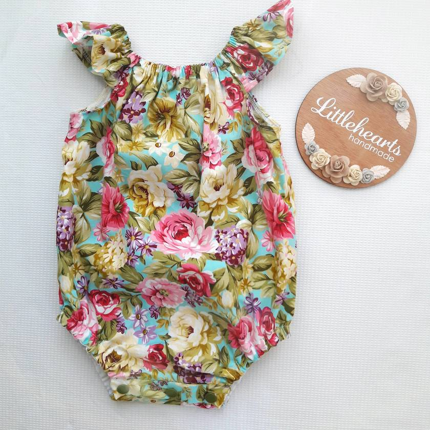 Floral Baby Romper 6-9mths