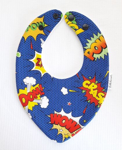 Triple Layer Dribble Bib - Pow