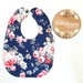 Classic Style Bib - Navy floral