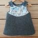 Pinny Style Wool Dress- Size 6-12m (SALE)